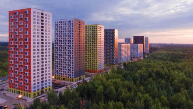 ЖК «Саларьево парк» Расположен в 5 минутах ходьбы от станции